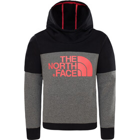 The North Face Drew Peak Capuchon Jas Meisjes, tnf medium grey heather